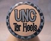 UNC Tar Heels Multi CHOICE Name Tag ID Badge Holder Retractable Reel Any Profession Unisex
