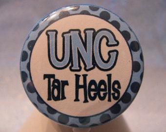 UNC Tar Heels, Retractable ID Badge Holder, ID Badge Reels, Nursing Badge Holders, Nurse Badge Reels, Card Holder, Retractable Badge Reels