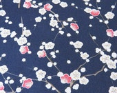 2362B -- Last Yard Sale - Pretty Plum Blossom in Navy