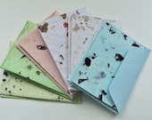 Handmade Paper Note Cards, Recycled Paper Note Cards, Handmade Paper