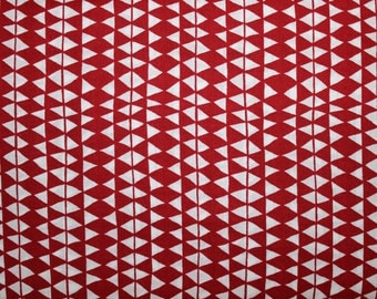 Organic, Cotton, Red, Diamonds, Fabric, Sale, In the Forest, Woolen Blanket, Cloud9 Fabrics, Wholesale, 1 yard, FREE SHIPPING to US