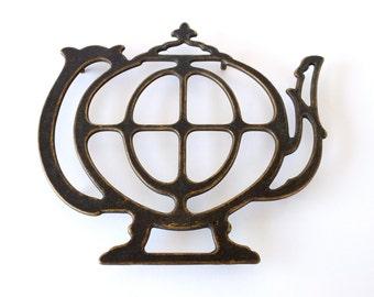Brass TeaPot Trivet