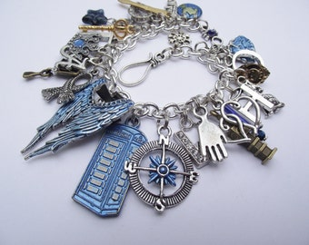 Time Lord - Ultimate Hand Painted Dr Who Charm Bracelet