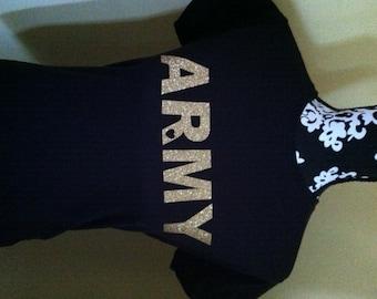 """Army """"Love"""" T Shirt"""