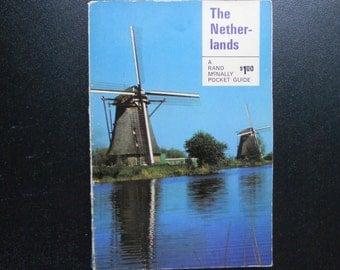 Vintage 1968 Guidebook: The Netherlands