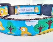 Little Yellow Duckie - Dog Collar / Handmade / Adustable / Pet Accessories