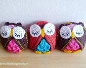 Crochet Owl Pattern, Owl Ornament Tutorial, Owl Diy