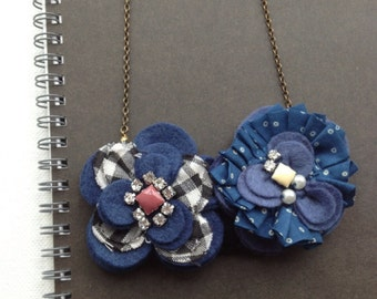 Petals Necklace & Brooch (BPT5)