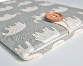 Apple iPad Mini 4 Case iPad Mini Cover Padded 7.9 inch iPad Mini Tablet Sleeve - Elephants