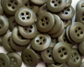"Store Closing - See Shop Announcement for deep discounts! Green Colored Buttons - 9/16"" to 5/8"" - YOU PICK QUANTITY 50 thru 100"