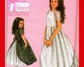 Daisy Kingdom Sweet Memories Girl's Dress Sewing Pattern Size 3-6