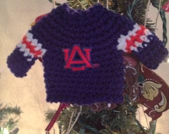 Auburn University Sweater Ornament
