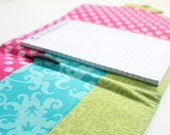 Notepad Clutch - List Taker - Custom - Made to Order