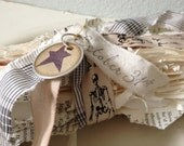Halloween Decoration - Tattered Spooky Book Bindings - Table Decor - Halloween Party Decor