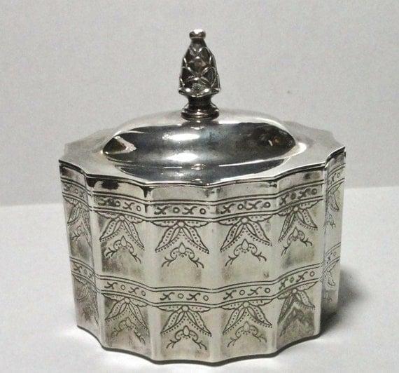 Godinger Silver Jewelry Box 1991