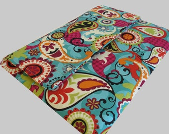 Microsoft Surface Case, Surface Book Case, Surface Sleeve, Surface Cover, Surface Pro 2 3 4 RT Case Paisley