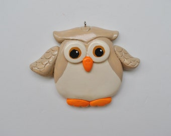 Personalized  Owl Christmas Ornament/Owl/Children's ornament/Bird