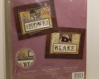 Breand Walton Toscana Bird and Swirl set of 2 Counted Cross Stitch Kit