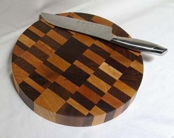 Cutting Board End-grain Round