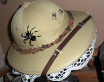 Steampunk Genteel Lady Adventurer's Pith Helmet