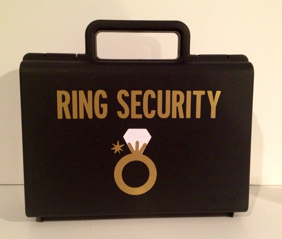 Ring Bearer Briefcase Ring Security Briefcase Ringbearer