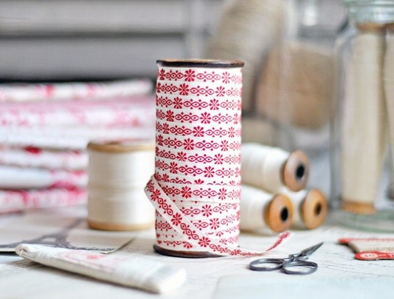Antique French ribbon from Petits Details