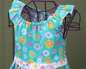 Girls Spring Summer Easter Dress Ready to Ship size 8 Sale