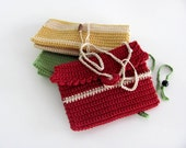Passport Cover- men& women--Red-White-Green-Yellow-100 % Cotton- gift for all-Summer