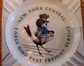 Fifties New York Bluebird Ashtray