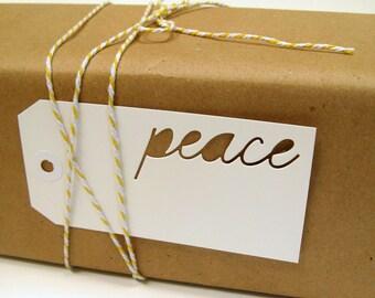 Holiday Gift Tags, Gift Tags, Peace, Christmas Tags, Hanukkah Tags, Holiday Tags, Peace Tags, Holiday packaging, Hanukkah gift, Christmas