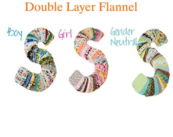 Sweet Bobbins Cloth Wipes - 25 wipes set - Double Layer flannel - 6x8 size