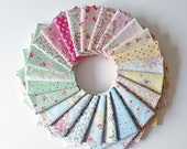 Last One, MARY ROSE, Sweet Charm, Japanese, Quilt Gate, Fat Quarter Bundle of 21