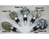 One Handcrafted Wine Stopper - Two-sided Choice of Item 101-105