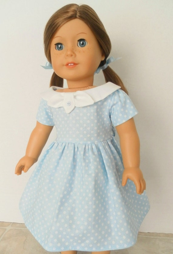 1950s Doll Dress American Girl Doll Clothes Ag Doll