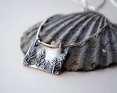 Silver Forest Necklace