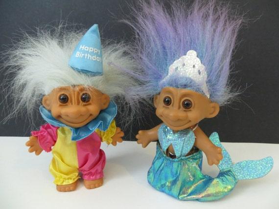 90s Troll Dolls Vintage 90's russ troll dolls