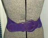 Great  Grape Elastic Stretch Belt