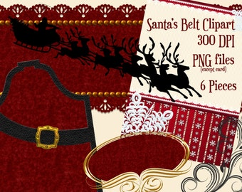 Christmas Clipart, Holiday Clipart, Holiday Frame Clipart, Christmas Cards