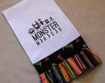 Monster Mash - Halloween Tea Towel