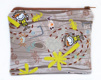 BUGS - Small zip pouch