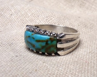 Turquoise Ring in Sterling Silver RF572