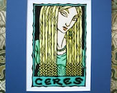 Ceres Matted Digital Print
