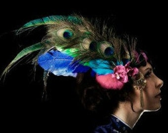 Clio Headdress by Willow