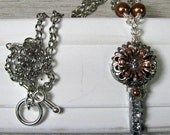 Silver and Copper Artisan...