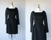 Vintage 60s Dress | Black Cocktail Dress | Vintage 1960s Dress | 60s Cocktail Dress