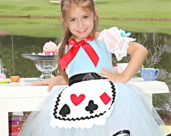Alice in Wonderland costume 4t