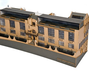 Glasgow School of Art Model Kit
