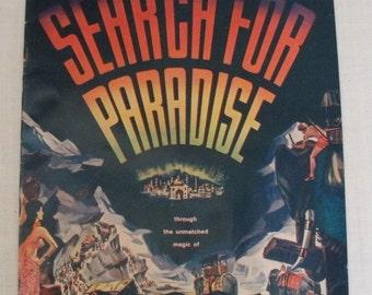 Vintage Lowell Thomas Search for Paradise Movie Program