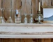 "Floating Wood Mantel - Home Decor - Wet Bar - Shelf - Ledge - Shabby 60"" Long x 10 Deep x 7 Tall - Wooden Ledge - Rustic - Farmhouse Chic"