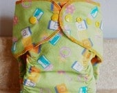 Fitted Small Cloth Diaper- 6 to 12 pounds- Baby Items